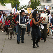 Dog Parade at the 40th Annual Fremont Fair 2011
