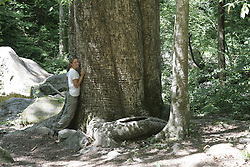 Visit to champion Poplar tree with Danielle and Keith, Sunday, June 10, 2007 at Winston County in Bankhead National Forest.