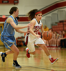 BHS Girls take on the Philip Barbour Colts at Bridgeport High.