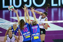 11-05-2017 ITA: Finale Liu Jo Modena - Igor Gorgonzola Novara, Modena<br /> Novara heeft de titel in de Italiaanse Serie A1 Femminile gepakt. Novara was oppermachtig in de vierde finalewedstrijd. Door een 3-0 zege is het Italiaanse kampioenschap binnen. / BRAKOCEVIC CANZIAN JOVANA<br /> <br /> ***NETHERLANDS ONLY***