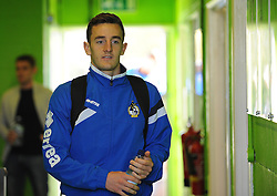 Bristol Rovers' Tom Lockyer - Photo mandatory by-line: Neil Brookman/JMP - Mobile: 07966 386802 - 29/04/2015 - SPORT - Football - Nailsworth - The New Lawn - Forest Green Rovers v Bristol Rovers - Vanarama Football Conference