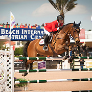 2013 CSIO4* Grand Prix held March 3rd at WEF