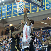 "Delaware 87ers Forward Keith ""Tiny"" Gallon (41) drives towards the basket in the first half of a NBA D-league regular season basketball game between Delaware 87ers (76ers) and the Erie BayHawks (Knicks) Friday, Jan. 3, 2014 at The Bob Carpenter Sports Convocation Center, Newark, DE"