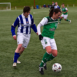 Hibernian Ladies v Kilmarnock Ladies | Scottish Women's Premier League | 29 April 2012