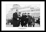 The Beatles arrive at Dublin Airport<br />