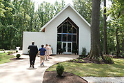 Couples also renewed their vows in the brand new Wedding Chapel in the Woods at Graceland, in Memphis, Tennessee during the 2018 Elvis Week Celebrations.