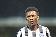 Kgosi Ntlhe during the EFL Cup match between Mansfield Town and Rochdale at the One Call Stadium, Mansfield, England on 8 August 2017. Photo by Daniel Youngs.