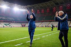November 17, 2018 - Konya, TURKEY - 181117 Head coach Janne Andersson of Sweden celebrates after the Nations League football match between Turkey and Sweden on November 17, 2018 in Konya..Photo: Joel Marklund / BILDBYRN / kod JM / 87808 (Credit Image: © Joel Marklund/Bildbyran via ZUMA Press)