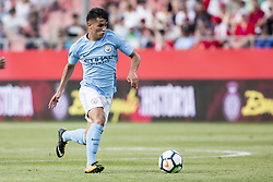 August 15, 2017 - Girona, Spain - 55 Brahim Diaz from Spain of Manchester City during the Costa Brava Trophy match between Girona FC and Manchester City at Estadi de Montilivi on August 15, 2017 in Girona, Spain. (Credit Image: © Xavier Bonilla/NurPhoto via ZUMA Press)
