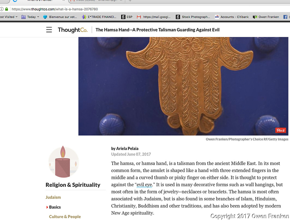 screenshot of online published works