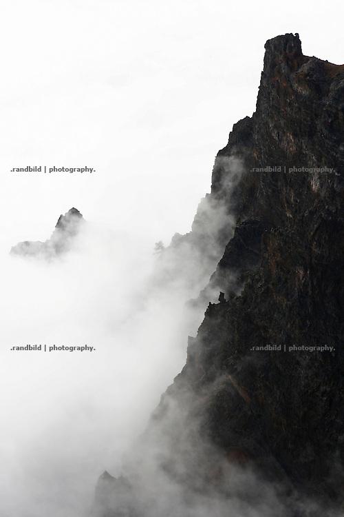 La Palma, Kanarische Inseln, Vulkankrater, Caldera de Taburiente,