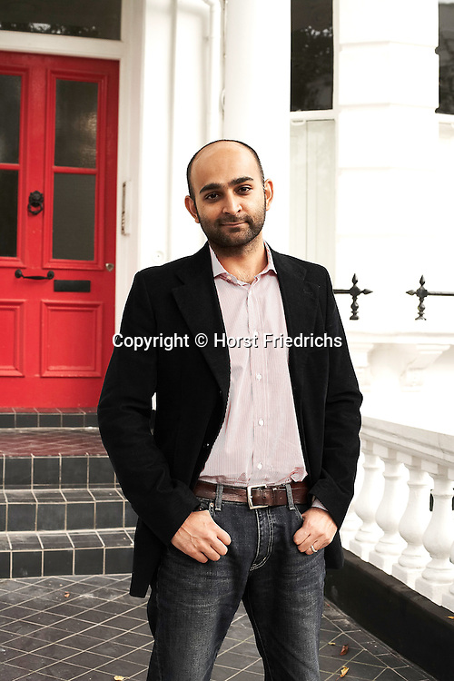 PAKISTANI-WRITER -- Mohsin Hamid in London on Oct. 7, 2007.&nbsp;<br /> Hamid is the author of &quot;The Reluctant Fundamentalist.&quot;&nbsp;