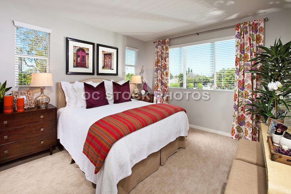 Master Bedroom Model Home Interior Design