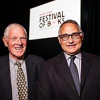 Ron Chernow keynote address at 2017 Morristown Festival of Books, Morristown, NJ, 10/13/17.
