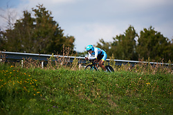 Arlenis Sierra Canadilla (CUB) at Boels Ladies Tour 2018 - Stage 6, an 18.6km individual time trial in Roosendaal, Netherlands on September 2, 2018. Photo by Sean Robinson/velofocus.com