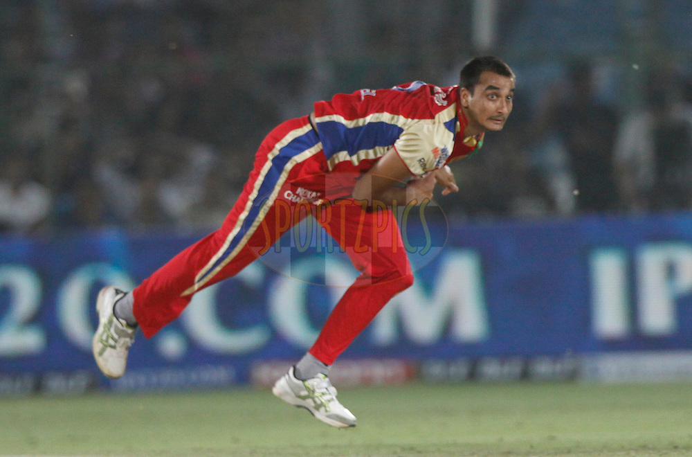during match 30 of the the Indian Premier League ( IPL) 2012  between The Rajasthan Royals and the Royal Challengers Bangalore held at the Sawai Mansingh Stadium in Jaipur on the 23rd April 2012..Photo by Pankaj Nangia/IPL/SPORTZPICS