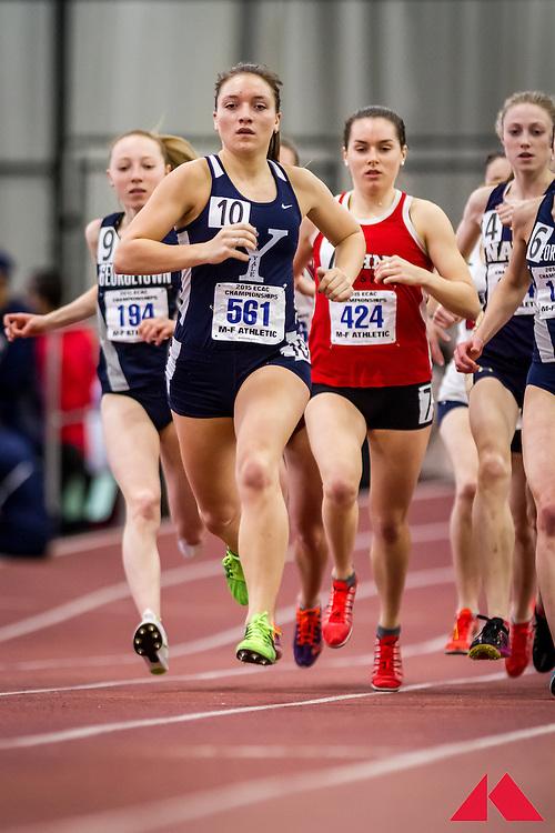 women's mile, heat 2, Yale, Waligurski, Emily