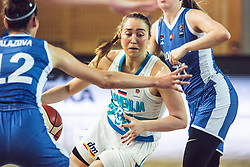 Annamaria Prezelj of Slovenia during Women's Basketball - Slovenia vs Slovaska on the 14th of June 2019, Dvorana Poden, Skofja Loka, Slovenia. Photo by Matic Ritonja / Sportida