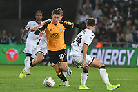 Football - 2019 / 2020 EFL Carabao (League) Cup - Second Round: Swansea City vs. Cambridge United<br /> <br /> Jack Roles of Cambridge United  on the attack, at Liberty Stadium.<br /> <br /> COLORSPORT/WINSTON BYNORTH