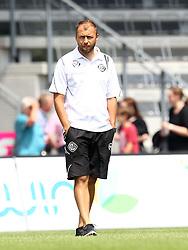 19.07.2015, Scholz Arena, Aalen, GER, Testspiel, VfR Aalen vs VfB Stuttgart, im Bild Co Trainer Christian Gmuender ( VfR Aalen ) // during the Friendly Football Match between VfR Aalen and VfB Stuttgart at the Scholz Arena in Aalen, Germany on 2015/07/19. EXPA Pictures © 2015, PhotoCredit: EXPA/ Eibner-Pressefoto/ Langer<br /> <br /> *****ATTENTION - OUT of GER*****