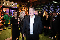 © Licensed to London News Pictures . 23/11/2018. Manchester , UK . Hugh Bonneville at an opening event of The Ivy restaurant and bar venue in Spinningfields in Manchester City Centre . Photo credit : Joel Goodman/LNP