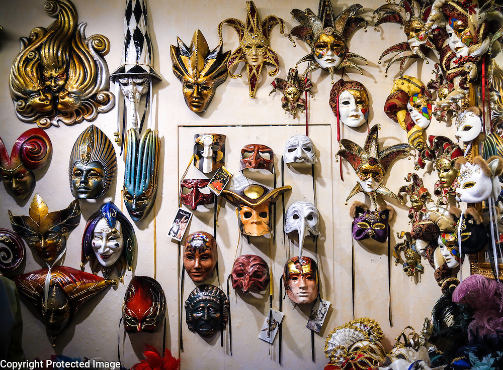 Ca' Macana Mask Shop in Venice, Italy / Dorsoduro district