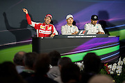 May 20-24, 2015: Monaco Grand Prix: Sebastian Vettel (GER), Ferrari, Nico Rosberg  (GER), Mercedes , Lewis Hamilton (GBR), Mercedes