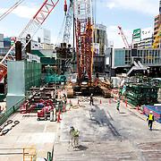 Shibuya construction