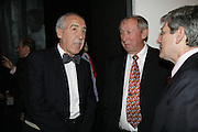 IGNACIO VESALLO AND ROY DISNEY, Dali and Film. Tate Modern. 30 May 2007.  -DO NOT ARCHIVE-© Copyright Photograph by Dafydd Jones. 248 Clapham Rd. London SW9 0PZ. Tel 0207 820 0771. www.dafjones.com.