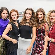 NLD/Amsterdam/20170928 - Perspresentatie De Spa, Eva Marie de Waal, Eva Bartels, Nzinga Sordam, Lara Leijs en Annette Barlo