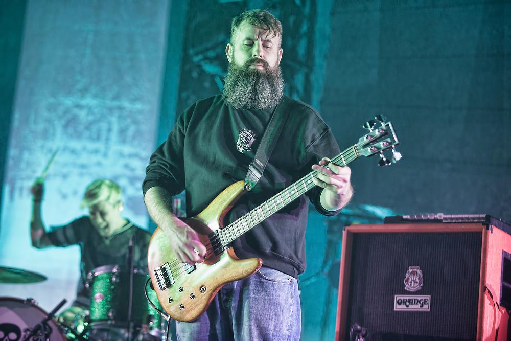 Mogwai in concert at the SSE Hydro, Glasgow, Scotland, Britain 16th December 2017