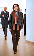 Queen Rania Sports Leather Jacket