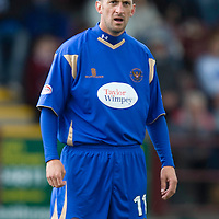 St Johnstone FC Season 2009-10<br /> Paul Sheerin<br /> Picture by Graeme Hart.<br /> Copyright Perthshire Picture Agency<br /> Tel: 01738 623350  Mobile: 07990 594431