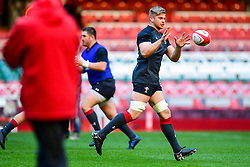 Aaron Wainwright takes part in the training session - Photo mandatory by-line: Ryan Hiscott/JMP - 29/10/2018 - RUGBY - Principality Stadium - Cardiff, Wales - Autumn Series - Wales Rugby Open Training Session