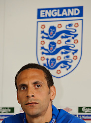 19.05.2010, Schloss Hotel Pichlarn, Irdning, AUT, FIFA Worldcup Vorbereitung, PK England, im Bild Rio Ferdinand (Manchester United), EXPA Pictures © 2010, PhotoCredit: EXPA/ S. Zangrando / SPORTIDA PHOTO AGENCY