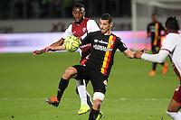 Yoann TOUZGHAR - 18.04.2015 - Metz / Lens - 33eme journee de Ligue 1<br />Photo : Fred Marvaux / Icon Sport