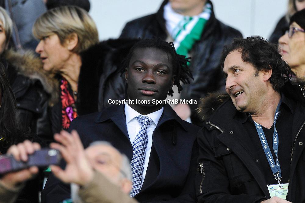 Bafetimbi GOMIS  - 21.12.2014 - Saint Etienne / Evian Thonon - 19eme journee de Ligue 1<br /> Photo : Jean Paul Thomas / Icon Sport