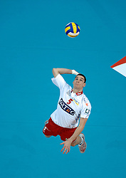 12-03-2005;VOLLEYBAL;FINAL4 TOP TEAMS CUP;ORTEC.NESSELANDE-OLYMPIACOS;ATHENE<br /> <br /> De mannen van ORTEC.Nesselande heeft het hoofd moeten buigen in de strijd om de Europese Top Teams Cup voor de thuis spelende sterrenformatie van Olympiakos Piraeus -<br /> <br /> <br /> <br /> ©2005-WWW.FOTOHOOGENDOORN.NL