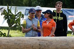 Hoy Betina, De Jong Sanne, Naber-Lozeman Alice, NED<br /> CCI 3*-4* Luhmuhlen 2017<br /> © Hippo Foto - Dirk Caremans<br /> Hoy Betina, De Jong Sanne, Naber-Lozeman Alice, NED
