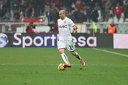 January 6, 2018 - Turin, Piedmont, Italy - Rodrigo Palacio (Bologna FC) during the Serie A football match between Torino FC and Bologna FC at Olympic Grande Torino Stadium on 06 January, 2018 in Turin, Italy. Torino won 3-0 over Bologna. (Credit Image: © Massimiliano Ferraro/NurPhoto via ZUMA Press)