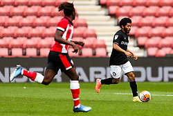 Jay Dasilva of Bristol City during a friendly match before the Premier League and Championship resume after the Covid-19 mid-season disruption - Rogan/JMP - 12/06/2020 - FOOTBALL - St Mary's Stadium, England - Southampton v Bristol City - Friendly.
