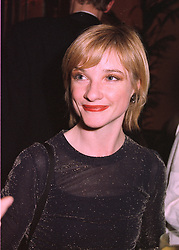Actress JANE HORROCKS at a fashion show in London on 20th March 1998.<br /> MGG 12