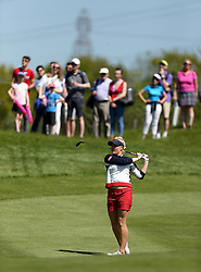 England's Charley Hull during day one of the Golf Sixes tournament at the Centurion Club, St Albans.