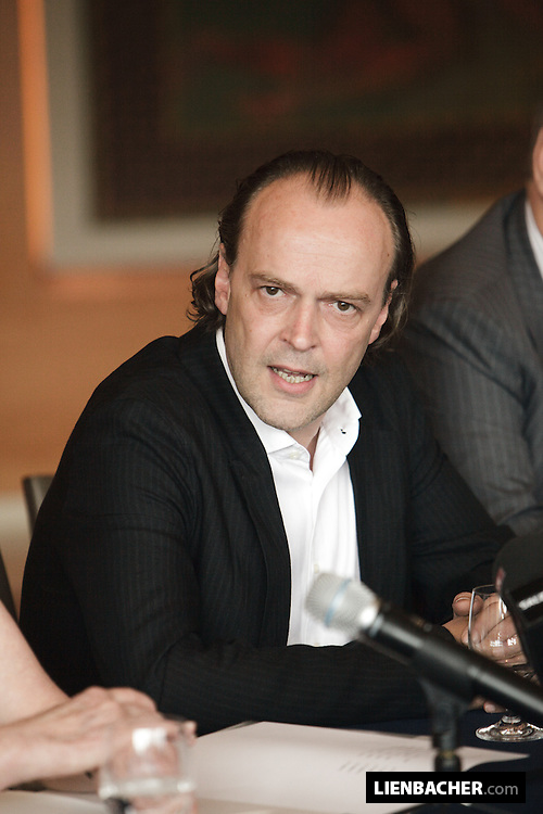 Salzburg: Sven-Eric Bechtolf at a press conference in the House for Mozart. Photo: Wolfgang Lienbacher