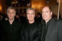 John Giddings, Doughie Souness and David Stopps