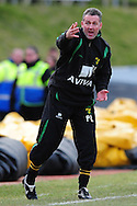 Brighton - Saturday 13th February, 2010: Paul Lambert of Norwich City during the Coca Cola League One match at The Withdean, Brighton...(Pic by Alex Broadway/Focus Images)