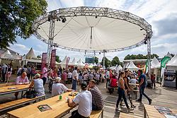 Impression Plaza<br /> Münster - Turnier der Sieger 2019<br /> Impressionen Ausstellung und Branding BEMER Riders Tour<br /> 04. August 2019<br /> © www.sportfotos-lafrentz.de/Stefan Lafrentz