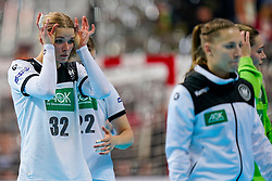 11-12-2019 JAP: Norway - Germany, Kumamoto<br /> Last match Main Round Group1 at 24th IHF Women's Handball World Championship, Norway win the last match against Germany with 32 - 29. / Evgenija Minevskaja #32 of Germany