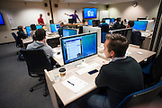 "Students in ""Sport and Fitness in the Digital Age"" present in the Rosauer Computer Lab on March 1. (Photo by Austin Ilg)"