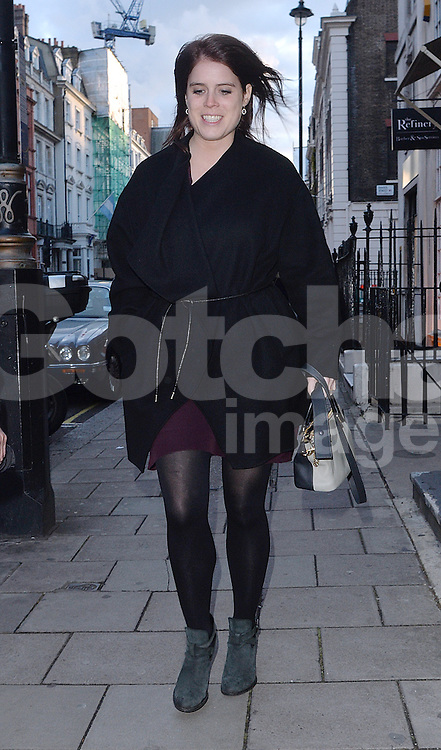 Princess Eugenie out and about in London, UK. 26/04/2016<br />